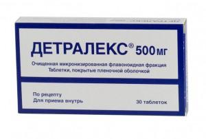 Детралекс  тбл 500мг N30