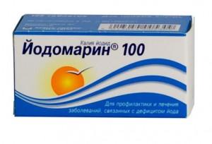 Йодомарин 100,тбл.  100 мг N100