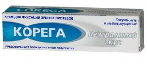 Корега Нейтральный вкус, крем д|фикс зубн.протезов туба 40мл