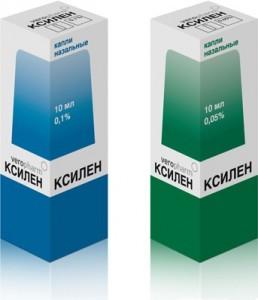 Ксилен, капли 0,05% 10мл Россия