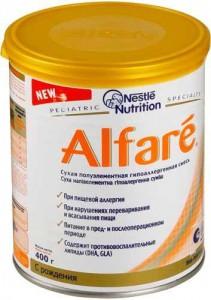 Смесь Альфаре ( Alfare ) гипоаллергенная 400 гр.