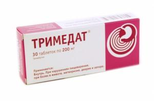 Тримедат, таб. 200мг N30 Россия