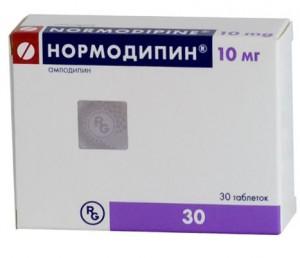 Нормодипин  таб. 10мг 30