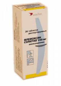 Флемоксин Солютаб, таб. 250мг №20 Импорт
