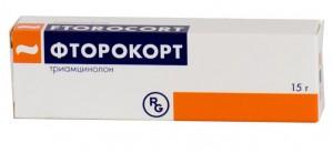 Фторокорт 0,1% 15г мазь Гедеон Рихтер Венгрия