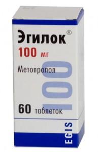 Эгилок  таб. 100мг N 60