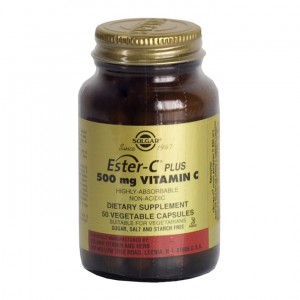 Солгар Эстер-С плюс Витамин С 500мг, капс 840мг N 50