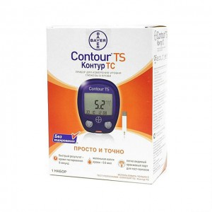 Глюкометр Контур ТС д|опред уровня глюкозы в крови