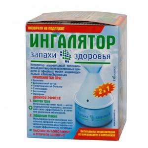 Ингалятор паровлажный 2в1(наст трав, эф масла)